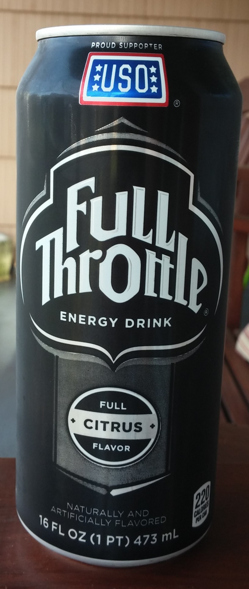 Drink Reaction: Full Throttle Energy Drink- Citrus – The Rad Blog
