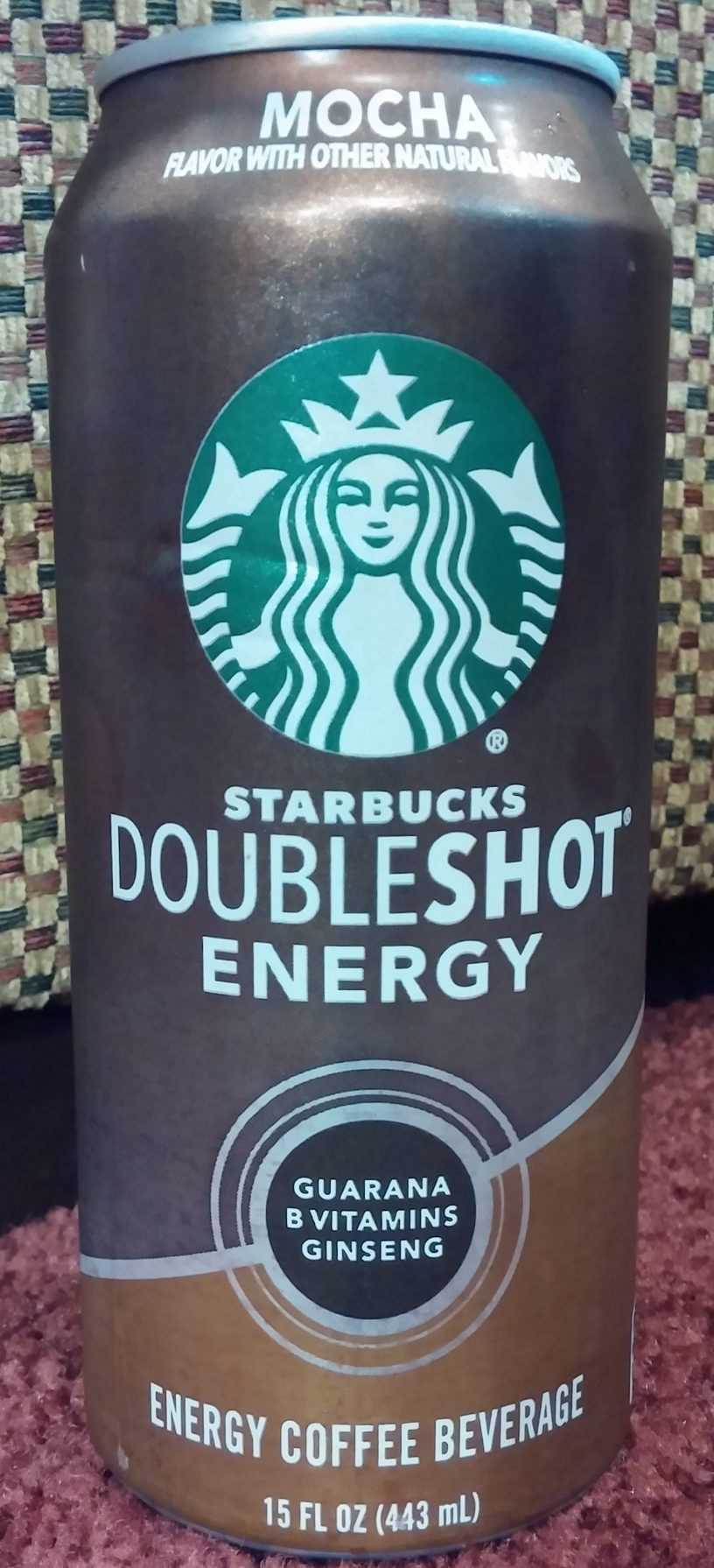 Drink Reaction Starbucks Doubleshot Energy Mocha The Rad