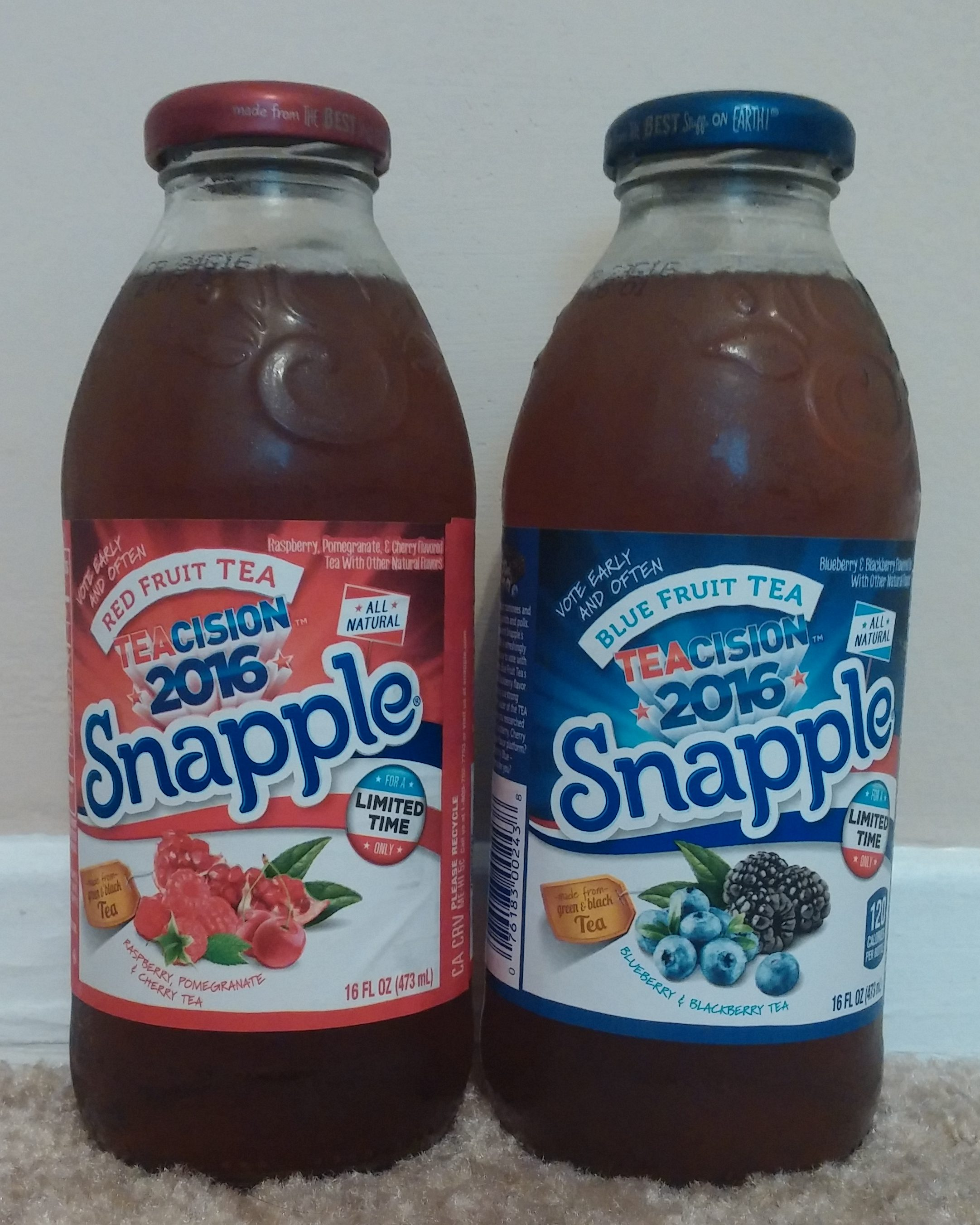 Drink Reaction: Snapple Teacision 2016 – The Rad Blog