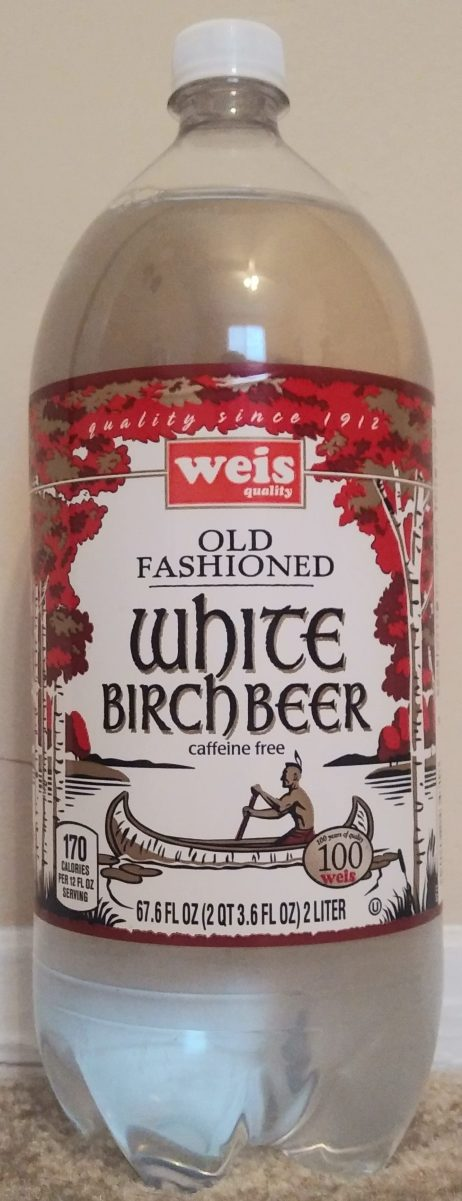 Drink Reaction Weis Old Fashioned White Birch Beer The